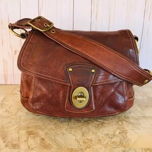 👜👜COACH LEGACY ALI WHISKEY VACHETTA SHOULDER BAG
